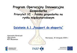 Agnieszka Góralczyk Specjalista RIF Mazowsze