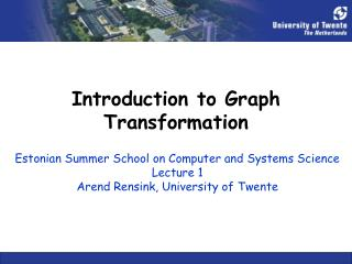 Introduction to Graph Transformation