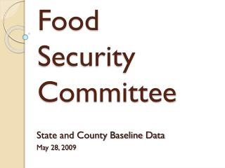 Food  Security Committee