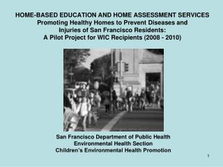 San Francisco Department of Public Health Environmental Health Section
