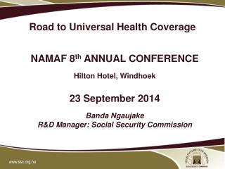 Road to Universal Health Coverage