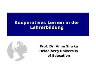 Kooperatives Lernen in der Lehrerbildung