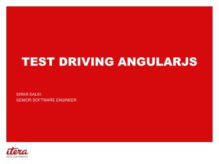 Test driving angularjs
