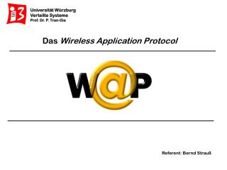 Das  Wireless Application Protocol
