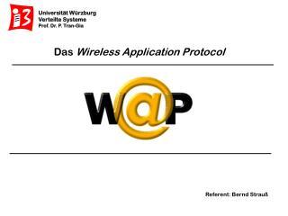 Das  Wireless Application Protocol