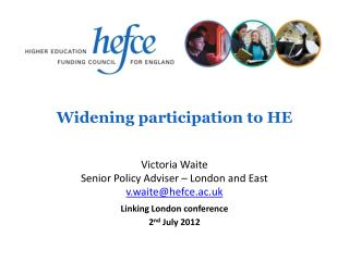 Widening participation to HE