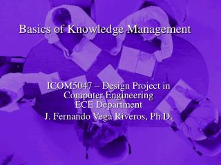 Basics of Knowledge Management