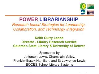 Keith Curry Lance Director - Library Research Service