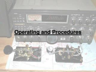 Operating and Procedures