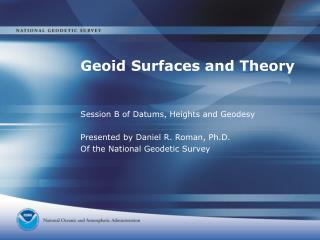 Geoid Surfaces and Theory