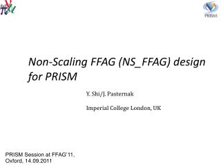 Non-Scaling FFAG (NS_FFAG) design for PRISM