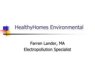 HealthyHomes Environmental