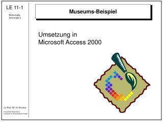 Museums-Beispiel