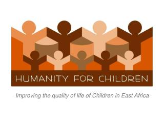 Improving the quality of life of Children in East Africa