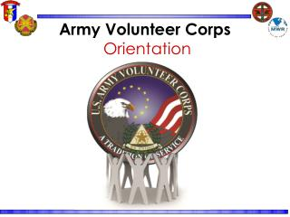 Army Volunteer Corps  Orientation