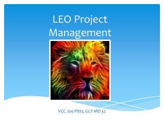 LEO Project Management