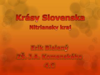 Erik Bielený ZŠ. J.A. Komenského 4.C