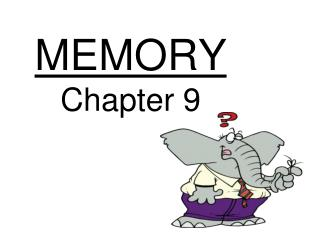 MEMORY Chapter 9