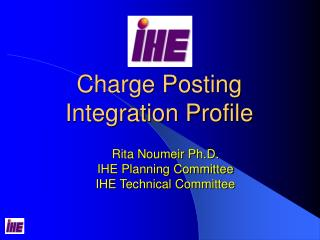 Charge Posting  Integration Profile