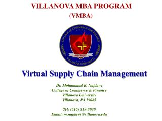 Virtual Supply Chain Management