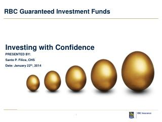 RBC Guaranteed Investment Funds