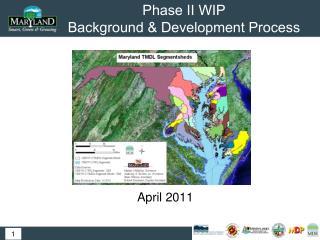 Phase II WIP  Background & Development Process