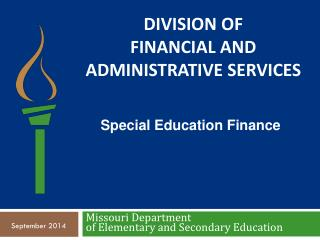 DIVISION of Financial and Administrative Services