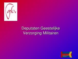 Deputaten Geestelijke Verzorging Militairen