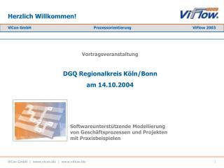 ViCon GmbH    vicon    viflow