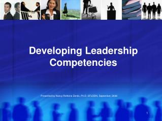Developing Leadership Competencies