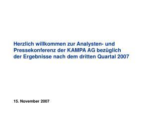 15. November 2007