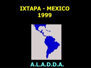 IXTAPA - MEXICO 1999
