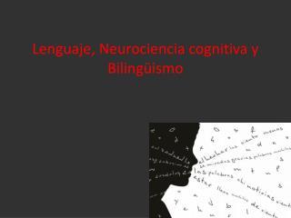 Lenguaje, Neurociencia cognitiva y Bilingüismo