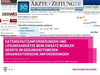 Dr. Dipl. Inform. Bernd Schütze, M.D., LL.B.