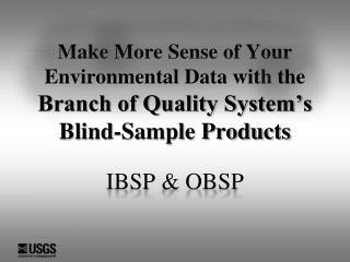 IBSP & OBSP