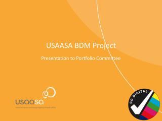 USAASA BDM Project