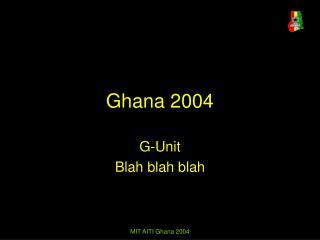 Ghana 2004