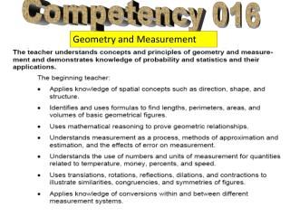 Competency 016