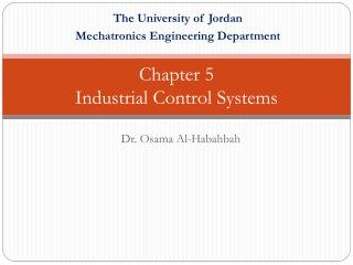Chapter 5  Industrial  Control Systems