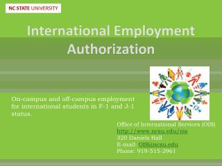 International Employment Authorization