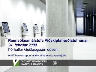 Markmið og tilgangur rannsóknar. Um miðað markaðsstarf.