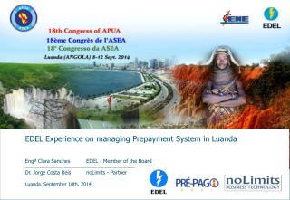Luanda ,  September  10th, 2014