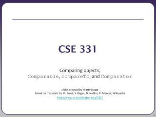 CSE 331