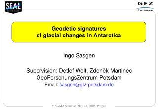Geodetic signatures of glacial changes in Antarctica