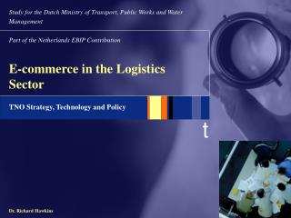 E-commerce in the Logistics Sector