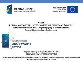 Prezentacja MGP Temat projektowy: Znaczenie alternatywnych źródeł energii.