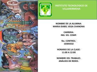 INSTITUTO TECNOLOGICO DE VILLAHERMOSA