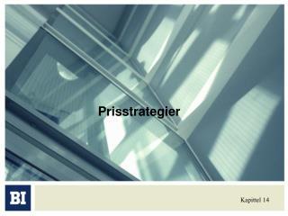 Prisstrategier