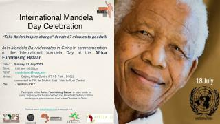 International Mandela Day Celebration