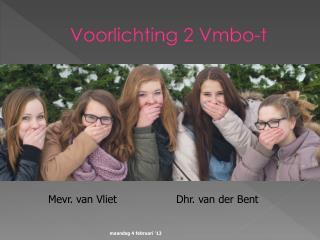 Voorlichting 2 Vmbo-t